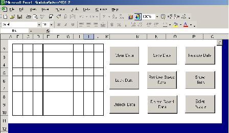 excel sudoku solver