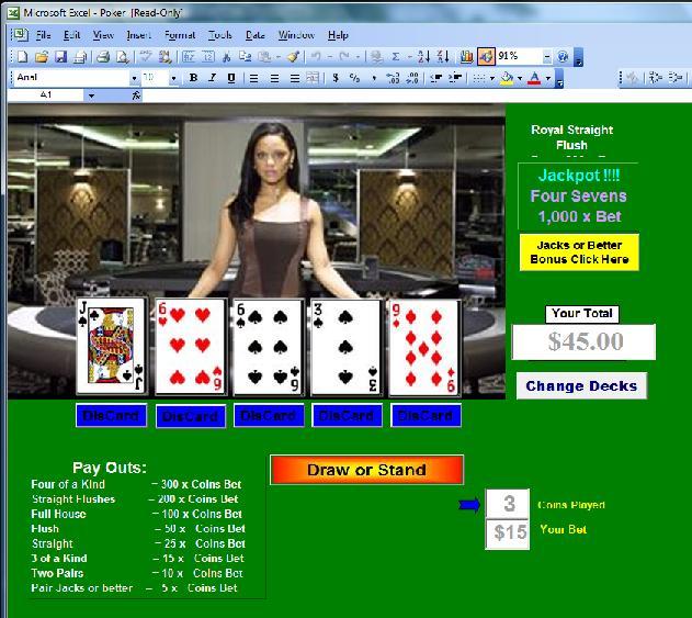 Video poker stereogram game horaire point vert baccarat